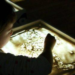 песочное шоу на день рождение ребёнка