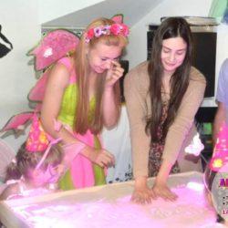 песочное шоу на детский день рождения