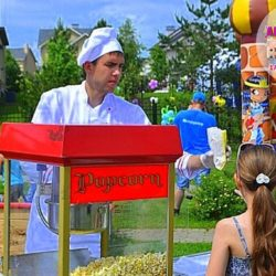 попкорн на детский день рождения