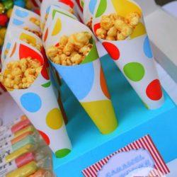 попкорн на праздник ребёнку