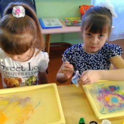 рисование на воде на детский день рождения