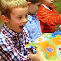 рисование на воде на детский праздник