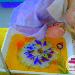рисование на воде на праздник ребёнку