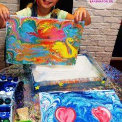 рисование на воде на праздник в детский сад