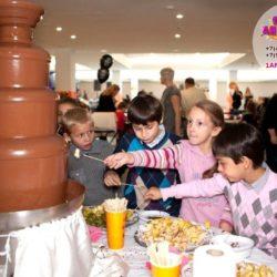 шоколадный фонтан на праздник ребенку