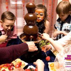 шоколадный фонтан на праздник в школу