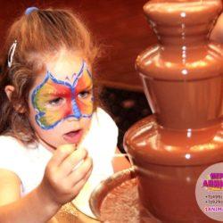 шоколадный фонтан на выпускной