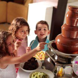 шоколадный фантан на выпускной в детский сад