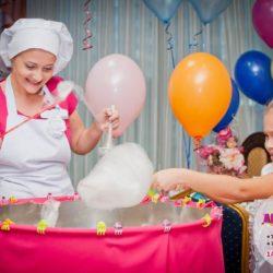 сладкая вата на детский праздник