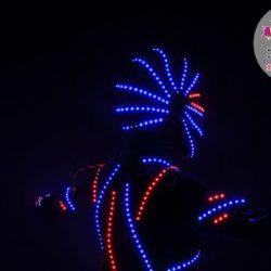 световое шоу на детский день рождения