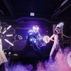 световое шоу на праздник в детский сад