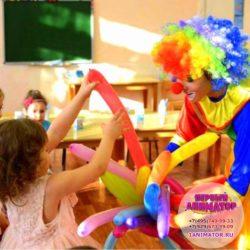 твистинг на детский праздник в Московской области