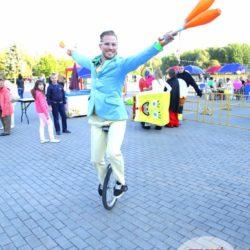 жонглёр на день рождение в Москве