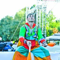 жонглёр на детский праздник