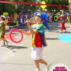 жонглёр на праздник в школу
