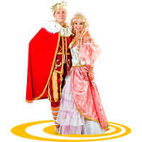 аниматор принц и принцесса