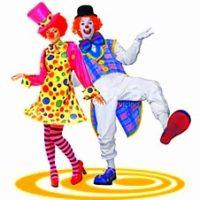 аниматор клоун и клоунесса