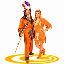 Индеец и индианка