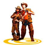 аниматор ковбой и ковбойка