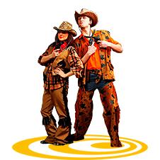 Ковбой и ковбойка