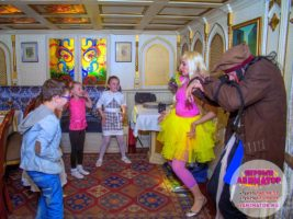 детские праздники метро Новоясеневская