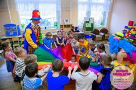 детский день рождения метро Добрынинская