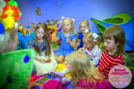 детский день рождения метро Калужская