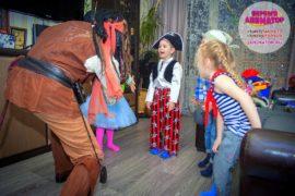 детский праздник метро Смоленская
