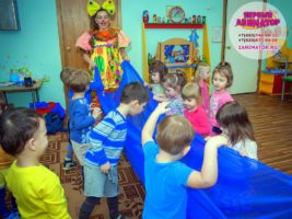 детский праздник метро Театральная