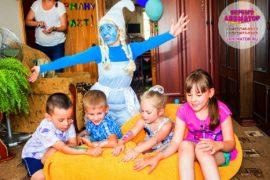 детский праздник метро Волгоградский проспект