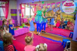 детский праздник метро Курская