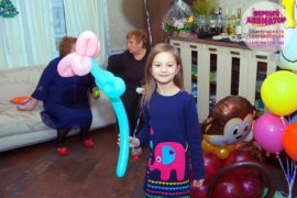детский праздник метро Менделеевская