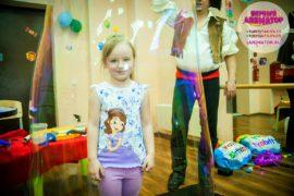 ребенок праздник метро Менделеевская