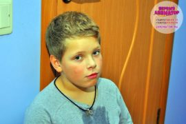 ребенок праздник метро Спартак
