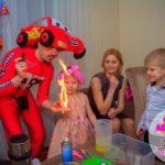 химическое шоу на день рождение в Москве