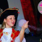 шоу мыльных пузырей детям