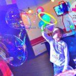 шоу мыльных пузырей на праздник ребёнку