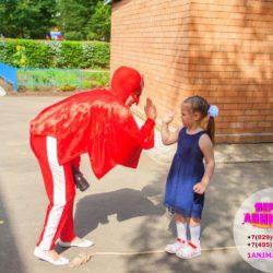 аниматор герои в масках на праздник ребёнку