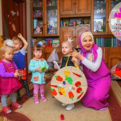 аниматор Маша и медведь на день рождения ребёнка