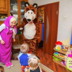 аниматор медведь на детский праздник