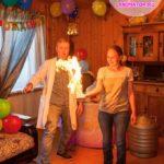 химическое шоу на детский день рождение