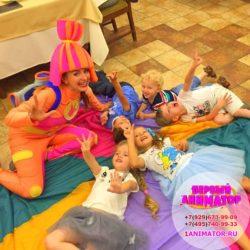 химическое шоу = опыты для детей в Москве