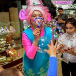 шоу мыльных пузырей для детей на день рождение