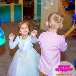 шоу мыльных пузырей для детей на день рождения