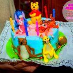 торты на детский день рождение
