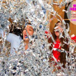 бумажное шоу на праздник в Москве