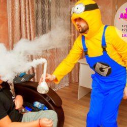 химическое шоу на день рождения ребёнка