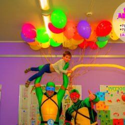 красивый букет из воздушных шаров в Москве и области