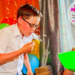 крио - шоу для детей на день рождения