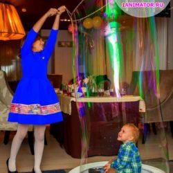 мыльные пузыри с погружением